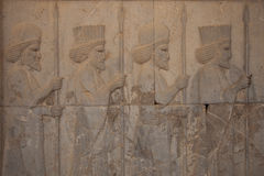 Relief at persepolis, iran Stock Images