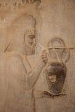 Relief at persepolis, iran Royalty Free Stock Image