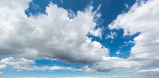 Relief picturesque clouds Royalty Free Stock Image