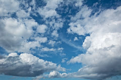 Relief picturesque clouds Royalty Free Stock Images