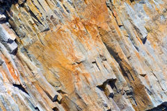 The relief of the rocks Stock Images