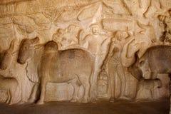 Relief sculpture,India Stock Images