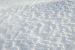 Relief on the snow. The background of relief on the snow Stock Photos