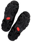 Relief on a sole of sports footwear Stock Image