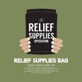 Relief Supplies Bag Stock Photos