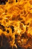 Orange flame. defocus Stock Image