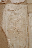 Relief in the Temple of Queen Hatshepsut Stock Photography