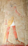 Relief in the Temple of Queen Hatshepsut Stock Photos
