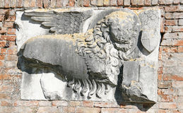 Relief in Torcello Stock Photo