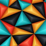Relief Triangles Stock Images