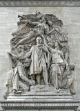 Relief of the Triumph of Napoleon Stock Image