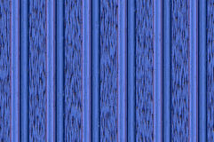 Relief wall - blue. Abstract background. Decorative vertical striped shiny relief wall Stock Photography