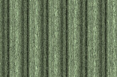 Relief wall - khaki. Abstract background. Decorative vertical striped shiny relief wall Stock Images