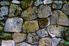 Stone wal texture Royalty Free Stock Images