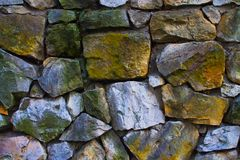 Stone wal texture Stock Images