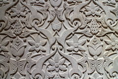 Relief of wall in Monserrate palace, Sintra, Portugal Stock Image