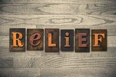 Relief Wooden Letterpress Theme Stock Photos