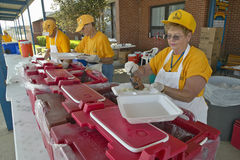 Free Relief Workers From Red Cross Stock Photos - 26273943