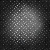 Reliefowa ciemna metalu tła ilustracja Zdjęcia Stock