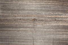 Reliefowa tekstura powierzchnia stara drewniana deska z biednym przerobem ekspresyjny kierunek drewniani włókna Obraz Stock