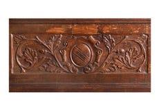 reliefowy drewno Obrazy Royalty Free
