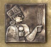 Reliefowy majowie obraz royalty free