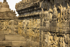 Reliefs borobudur Royalty Free Stock Photo