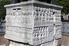 Reliefs on Obelisk in Istanbul,Turkey Stock Photography