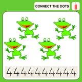 0116_42 relient les points Image stock