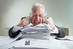 Relieving Stress at Workplace Stock Images