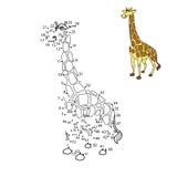 Reliez les points à l'animal d'aspiration illustration libre de droits