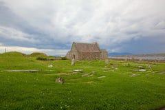 Relig Odhrain und Kapellen-Insel Str.-Orans von Iona Lizenzfreies Stockfoto