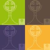 Religião ilustração stock