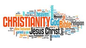 Religião da cristandade ilustração royalty free