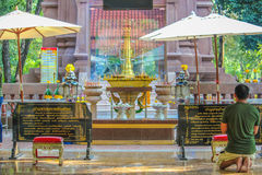 Religião de Tailândia Fotos de Stock Royalty Free
