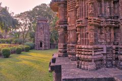 Religião do hindu da Índia de Bhubaneswar Odisha do templo de Chitrakarini fotos de stock royalty free