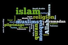 Religião do Islão ilustração do vetor