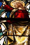 Religião do vidro manchado Fotos de Stock