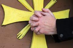 A religião e pray imagens de stock royalty free