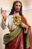 Religión de la escultura del retrato de Cristo imágenes de archivo libres de regalías