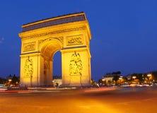 Religión del lumiere del ciel del monumento de París Foto de archivo