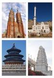 Religión del mundo foto de archivo libre de regalías