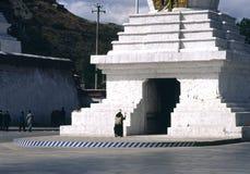 Religión en Tíbet Imágenes de archivo libres de regalías