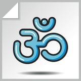 Religión icons_5 Fotografía de archivo libre de regalías
