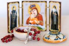 Religión ortodoxa griega Foto de archivo libre de regalías