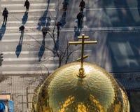 Religión ortodoxa rusa Imágenes de archivo libres de regalías