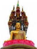 Religión tailandesa de Buda Foto de archivo libre de regalías