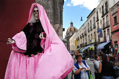 Religiões em México - Santa Muerte Foto de Stock Royalty Free