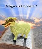 Religiös bedragare Royaltyfri Fotografi