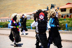 Religiös ferie i Peru Royaltyfri Bild